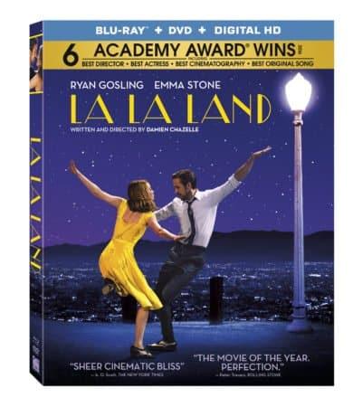 La La Land Coming to Digital HD 4/11 and 4K, Blu-ray & DVD 4/25 3