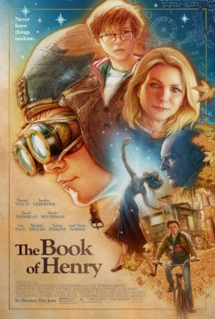 """THE BOOK OF HENRY"" debuts its trailer today. 3"