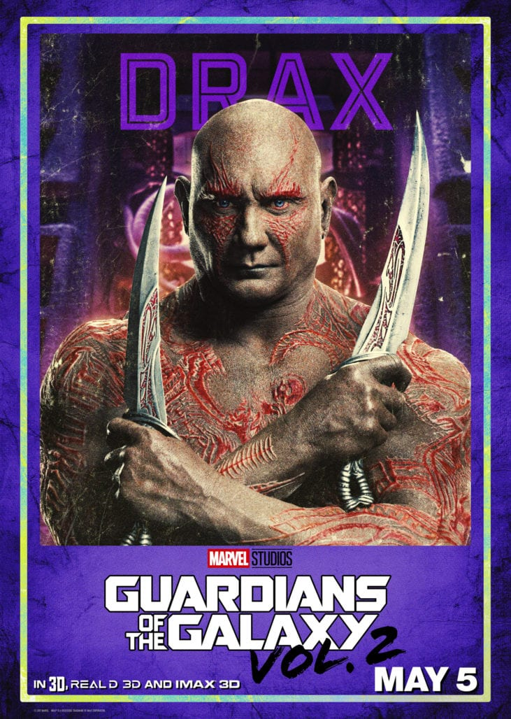 Get GUARDIANS OF THE GALAXY VOL. 2 Tickets Now! 7