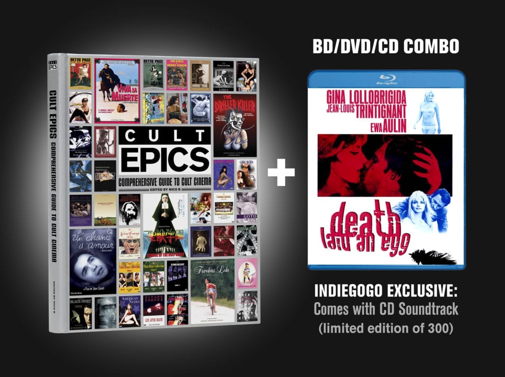 CULT EPICS IS RELEASING A COMPREHENSIVE GUIDE TO CULT CINEMA. Find out how to get a copy! 3