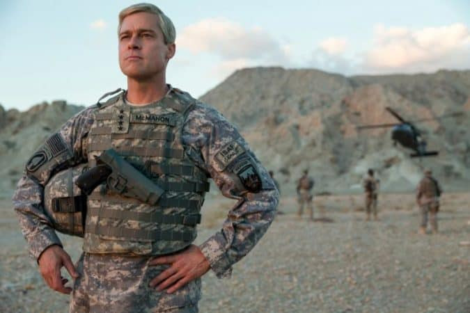 Brad Pitt unleashes the War Machine on Netflix. 1