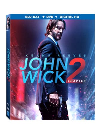 JOHN WICK CHAPTER 2 arrives on Digital HD 5/23 and on 4K, Blu-ray & DVD 6/13 3