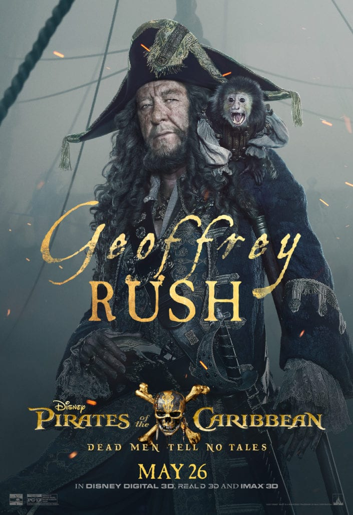 """CHECK OUT THESE NEW POSTERS FOR """"PIRATES OF THE CARIBBEAN: DEAD MEN TELL NO TALES"""" 3"""