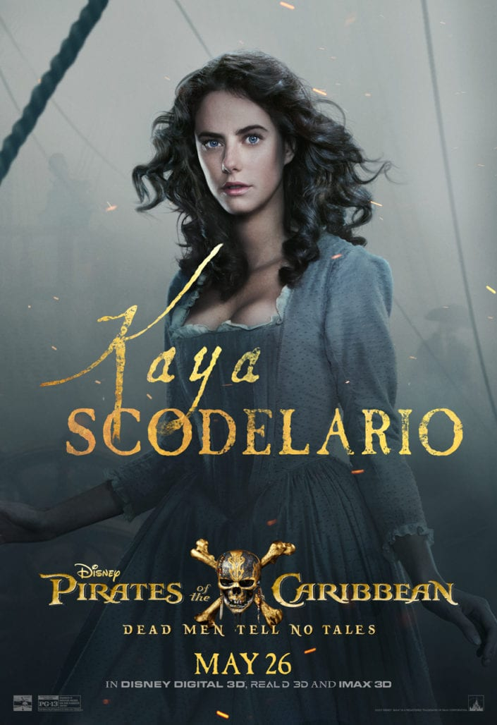 """CHECK OUT THESE NEW POSTERS FOR """"PIRATES OF THE CARIBBEAN: DEAD MEN TELL NO TALES"""" 5"""