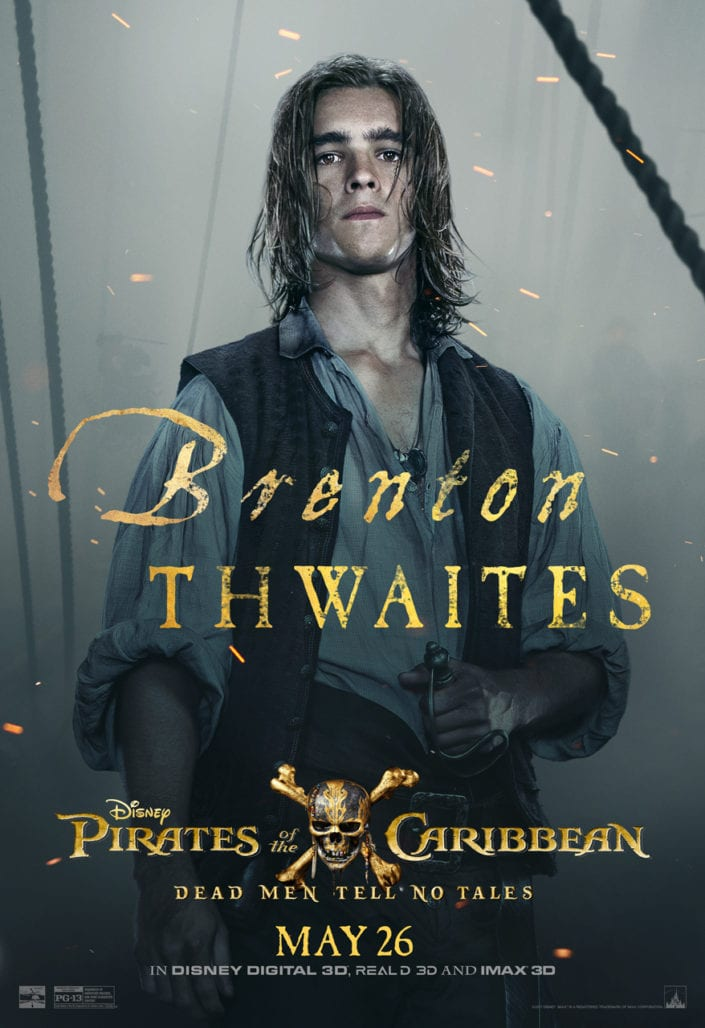 """CHECK OUT THESE NEW POSTERS FOR """"PIRATES OF THE CARIBBEAN: DEAD MEN TELL NO TALES"""" 7"""