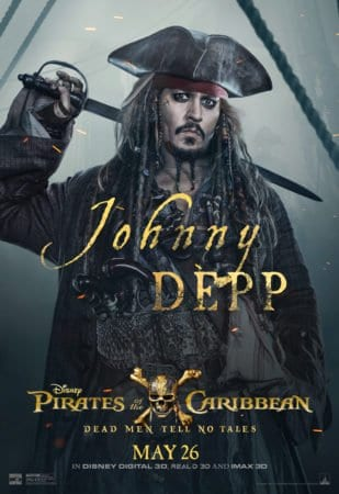 "CHECK OUT THESE NEW POSTERS FOR ""PIRATES OF THE CARIBBEAN: DEAD MEN TELL NO TALES"" 10"