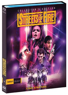"Walter Hill's ""Streets of Fire"" Collector's Edition 2-Disc BD set debuts 5/16 5"