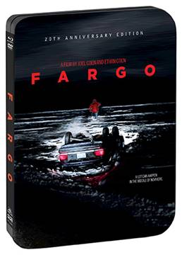 Fargo (20th Anniversary Edition Steelbook) arrives from Shout Factory on August 8th. 3