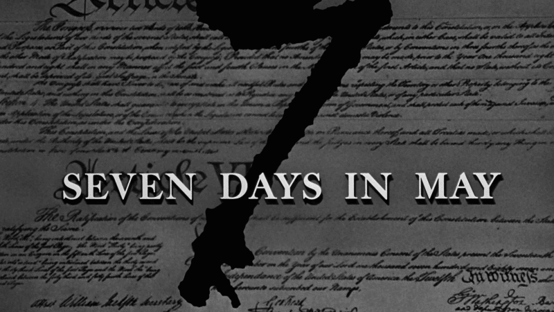 SEVEN DAYS IN MAY 1