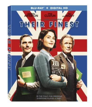 Their Finest arrives on Blu-ray™ (plus Digital HD) and DVD on July 11 7