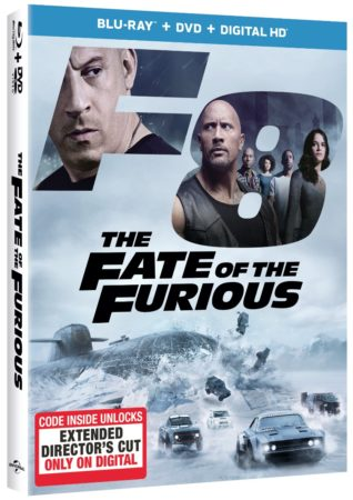 THE FATE OF THE FURIOUS – Racing to Digital HD 6/27 and Blu-ray & DVD 7/11 with Digital Extended Director's Cut 1