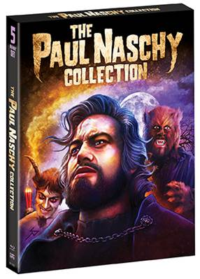 The Paul Naschy Collection 5-Disc BD set hits shelves June 20, 2017 3