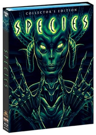 SPECIES Collector's Edition Blu-ray set - coming to home ent. shelves July 11 from Scream Factory 3