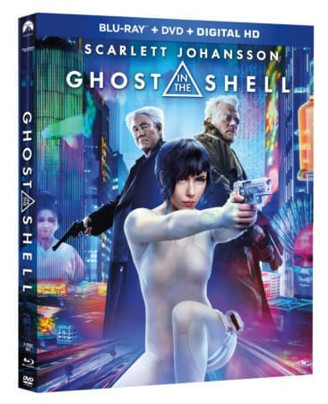 GHOST IN THE SHELL arrives on Blu-ray, 4K Ultra HD and Blu-ray 3D Combo Packs July 25th and Digital HD July 7th 1