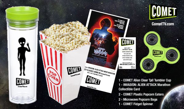 Alien Attack Movie Marathon COMET TV Giveaway! July 4th Prepare To Be Invaded 1