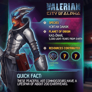 Here's a teaser for VALERIAN: CITY OF ALPHA, Official Mobile Game of the upcoming Valerian and the City of a Thousand Planets 3