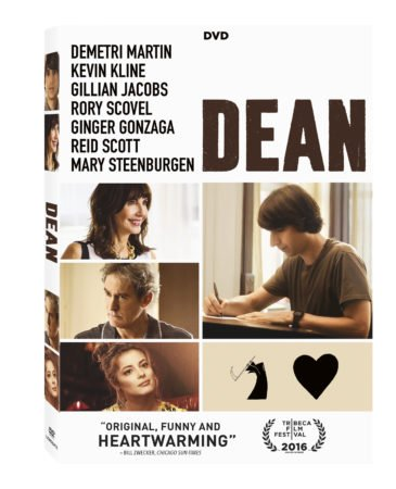 DEAN arrives on DVD, Digital HD and On Demand August 29 3