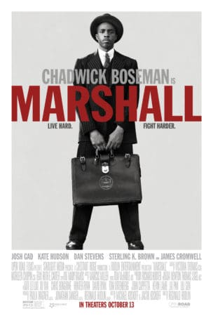 CHADWICK BOSEMAN GETS SUPREME IN NEW MARSHALL POSTER 1