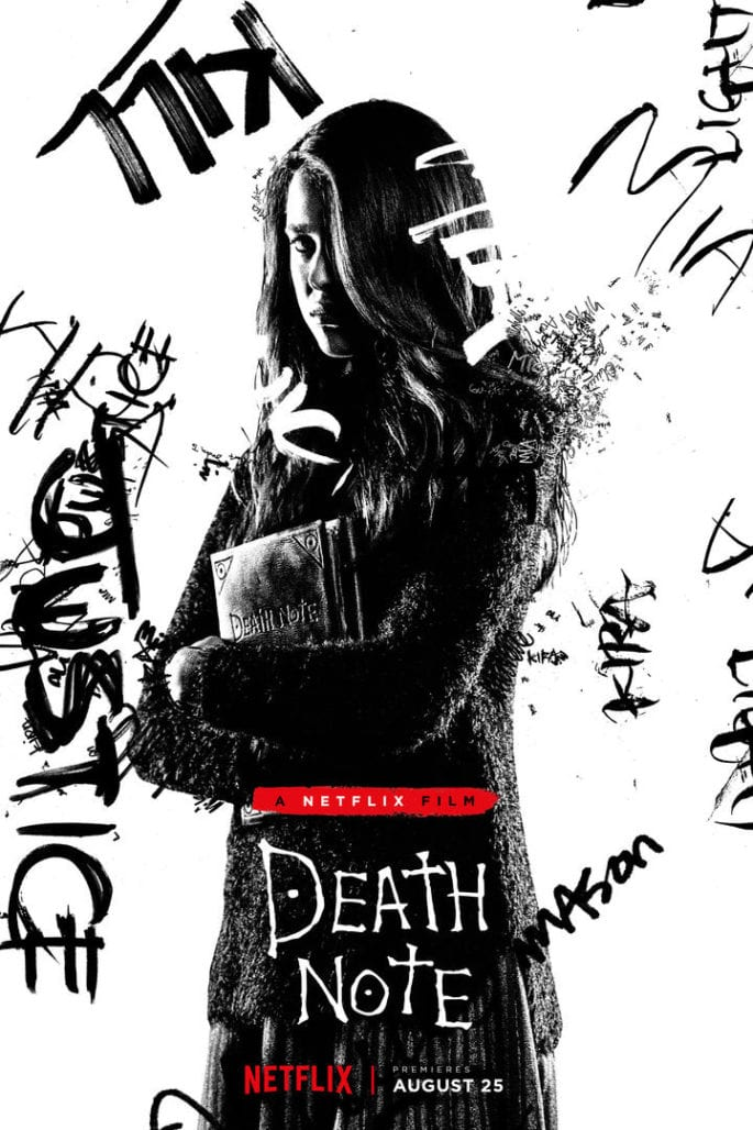 DEATH NOTE has a new poster for MIA 3