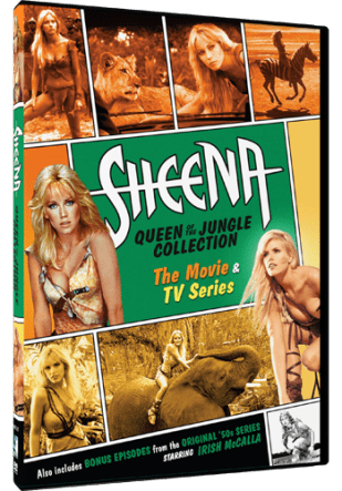 SHEENA - QUEEN OF THE JUNGLE COLLECTION: THE MOVIE & TV SERIES 1