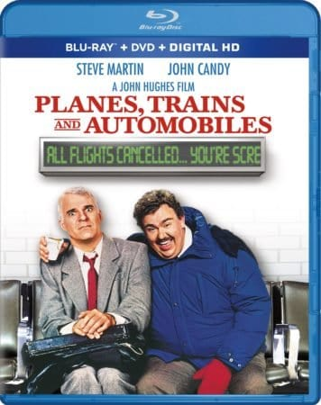 PLANES, TRAINS AND AUTOMOBILES makes an on-time arrival for its 30th anniversary on Blu-ray and DVD October 10th 3