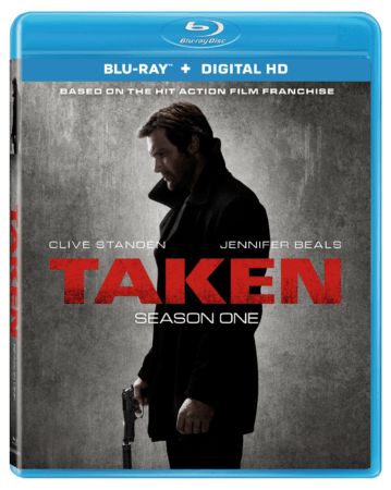 Taken - Season One arrives on Blu-ray (plus Digital HD) and DVD September 26 1