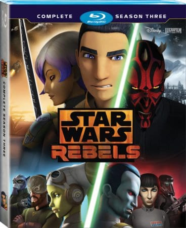 STAR WARS REBELS: THE COMPLETE SEASON THREE 5
