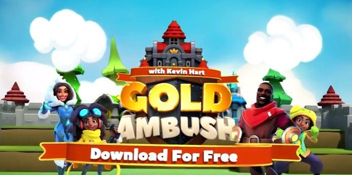 Kevin Hart Storms the Gates in New Mobile Game Gold Ambush with Kevin Hart 7