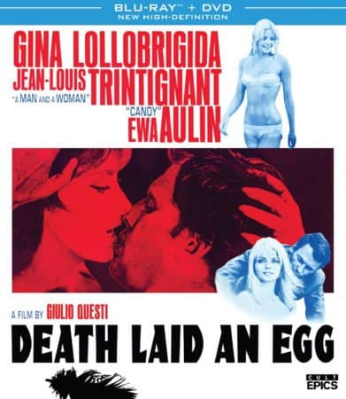 DEATH LAID AN EGG (Blu-ray/DVD Combo) arrives on November 28th, 2017 1