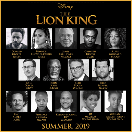MONDAY ROUNDUP: ANIMATION IS FILM, LEATHERFACE, HITMAN'S BODYGUARD, CALL ME BY YOUR NAME, THE LION KING LIVE-ACTION CAST 3