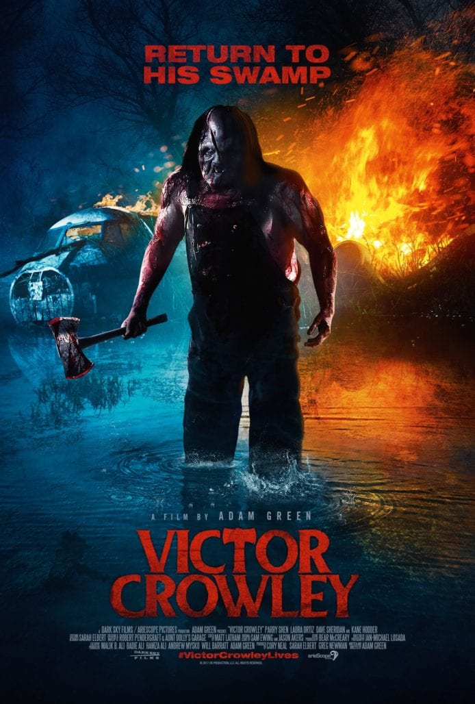 VICTOR CROWLEY IS COMING IN FEBRUARY! CHECK OUT THE POSTER! 3