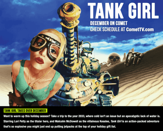 WHO WANTS TO WIN TANK GIRL SWAG FROM COMETTV? 1