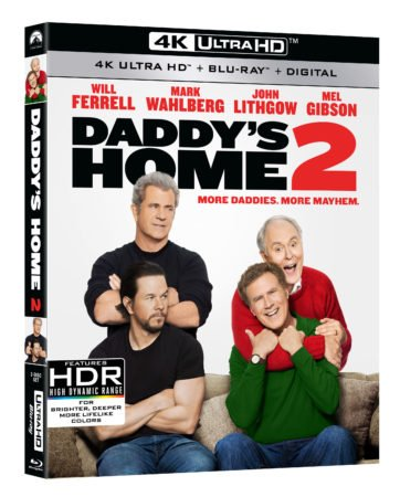 DADDY'S HOME 2 debuts on Digital February 6th and 4K Ultra HD/Blu-ray/DVD February 20th 9