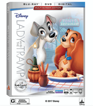 Disney's Lady and the Tramp Wags Its Way into the Walt Disney Signature Collection on Digital Feb. 20 and Blu-ray Feb. 27 3
