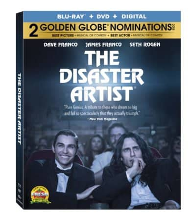 THE DISASTER ARTIST emotes all over Blu-ray on March 13th 21