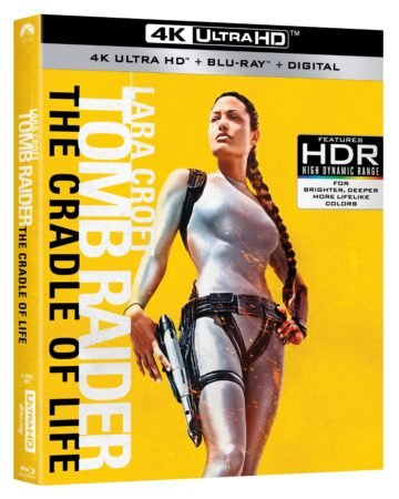 LARA CROFT: TOMB RAIDER and LARA CROFT TOMB RAIDER: THE CRADLE OF LIFE roll onto 4K UHD and 4K HDR February 27th 5