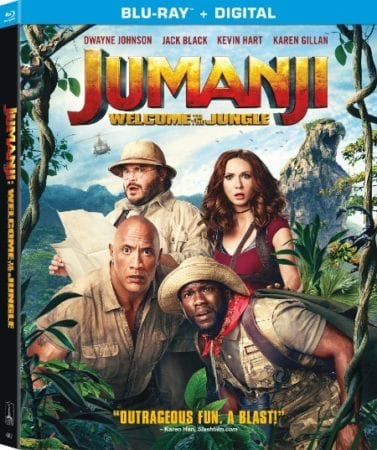JUMANJI: WELCOME TO THE JUNGLE Available on Digital 3/6, Blu-ray and DVD 3/20 17