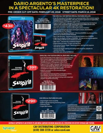 HOME VIDEO ROUNDUP: SUSPIRIA, PATH OF BLOOD, THE SANDLOT, WOMEN IN PRISON BEHIND BARS, HELENA, UNEARTHED & UNTOLD AND MORE! 7