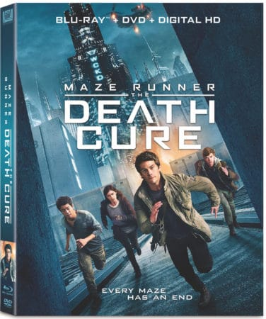 MAZE RUNNER: THE DEATH CURE Arrives on Digital April 10 and on 4K Ultra HD, BLU-RAY and DVD April 24 3