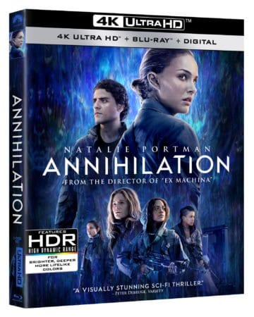 ANNIHILATION debuts on Digital May 22nd & on Blu-ray/DVD May 29th 5