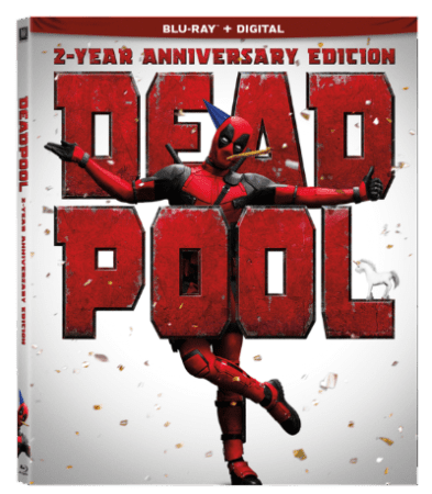 Deadpool brings sackload of party favors for a two-year anniversary Blu-ray and Steelbook 5