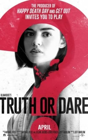 BLUMHOUSE'S TRUTH OR DARE OPENS ON FRIDAY! Win some exclusive swag at AndersonVision. 3