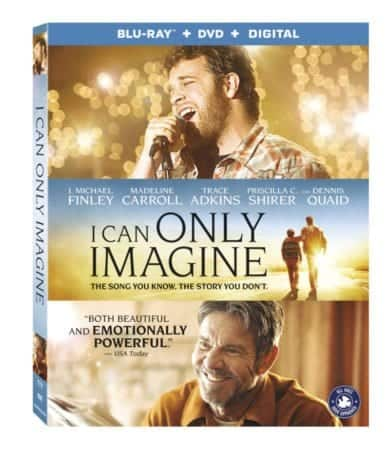 I Can Only Imagine arrives on Digital 6/5 and Blu-ray Combo Pack on 6/12 4