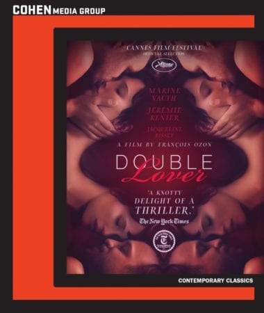 Cohen Media Group Brings DOUBLE LOVER Blu-ray & DVD 6/19 1
