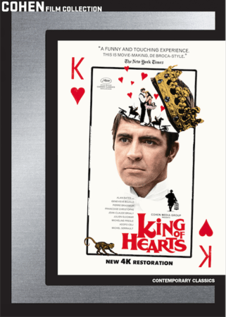 KING OF HEARTS Comes to DVD and Blu-ray on June 12th 8