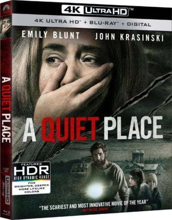 A QUIET PLACE arrives on Digital June 26th and 4K UHD, Blu-ray and DVD July 10th 9