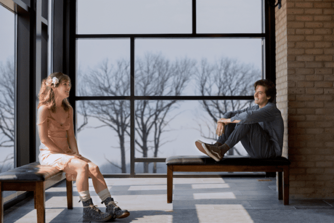 Five Feet Apart starring Haley Lu Richardson & Cole Sprouse offers up a first look! 5