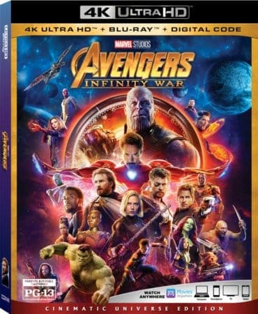 AVENGERS: INFINITY WAR hits Blu-ray on August 14th and Digital on July 31st 1