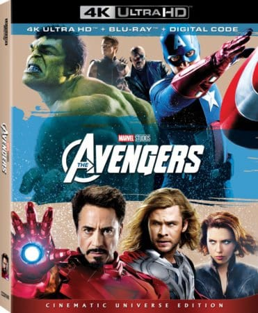 MARVEL STUDIOS TO RELEASE 'THE AVENGERS' & 'AVENGERS: AGE OF ULTRON'  ON 4K UHD ON THE HEELS OF AVENGERS INFINITY WAR IN-HOME RELEASE 1