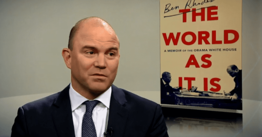 LIKELY STORY ACQUIRES FILM RIGHTS TO BEN RHODES' THE WORLD AS IT IS: A MEMOIR OF THE OBAMA WHITE HOUSE FROM RANDOM HOUSE 3